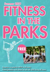 Fitness in the park graphic EP