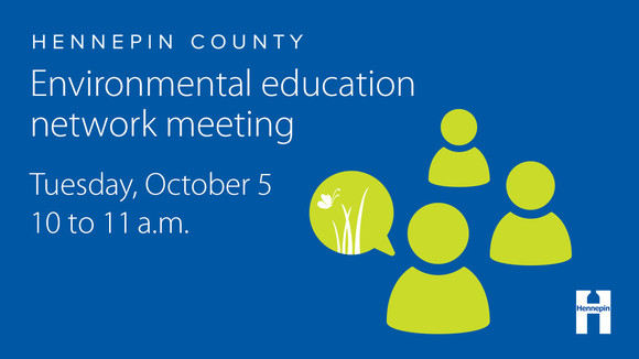 EE network meeting October 4 from 10 to 11 a.m.