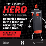Be a battery hero