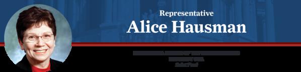 Alice Hausman State Representative Email Banner
