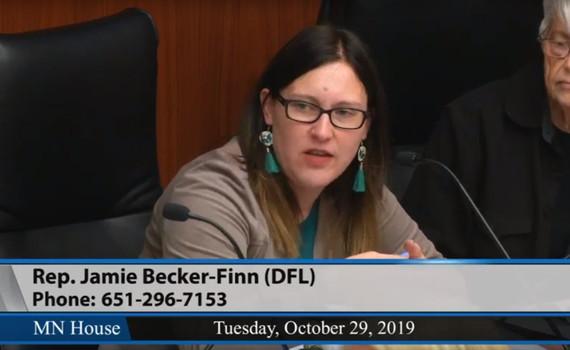 JBF speaking at CWD hearing