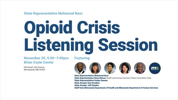 Opioid listening session