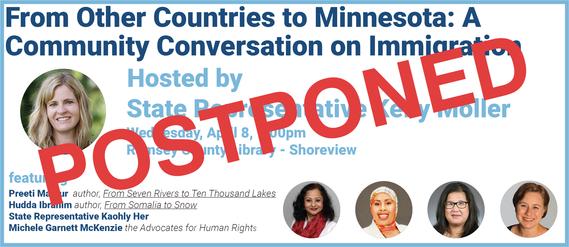 community conversation postponed