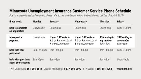 Updated Unemployment Info