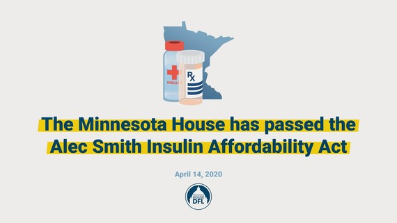 Alec Smith Insulin Act Graphics - House Passage
