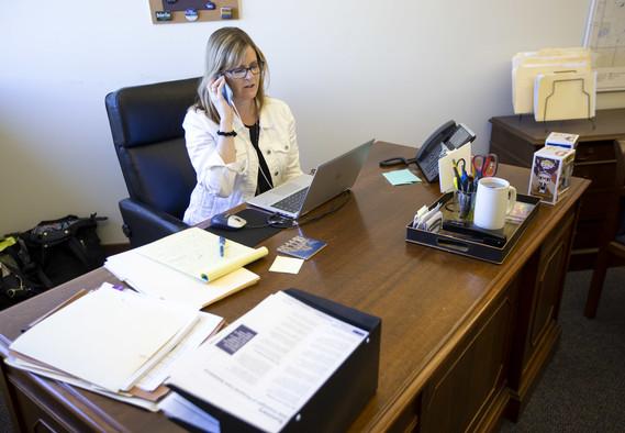 KM in office