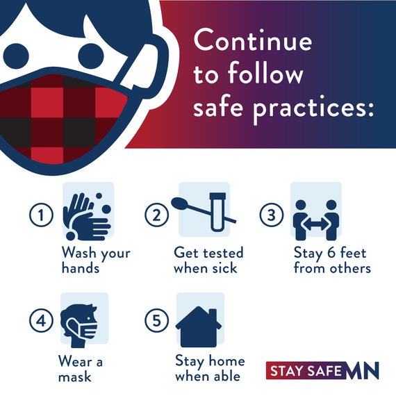 Stay Safe MN 5 Safe Practices