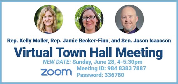 June 28 Virtual Town Hall