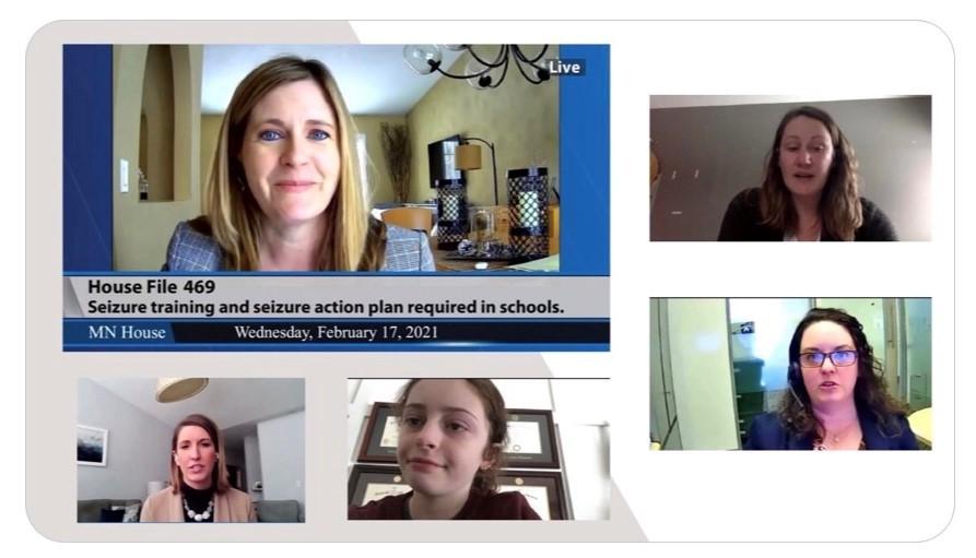 Seizure Smart Schools testimony