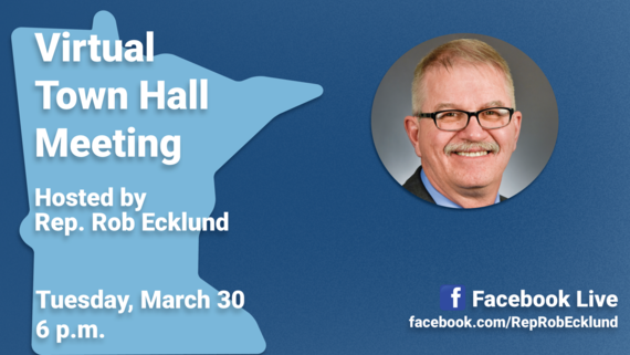 Ecklund virtual town hall