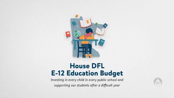 E-12 Education Budget Graphic