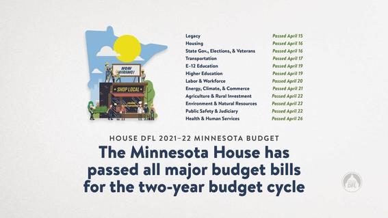 All Budget Bills