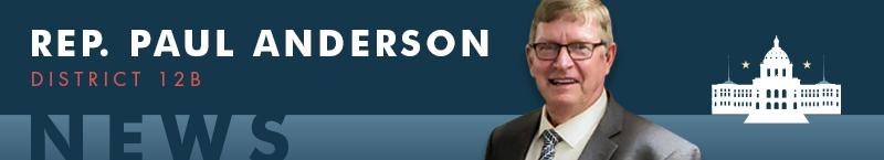 Rep. Paul Anderson banner