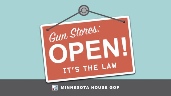 Guns open