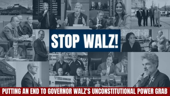 Lawsuit against Walz
