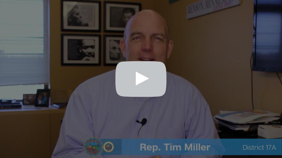Rep. Tim Miller - 3.19.21