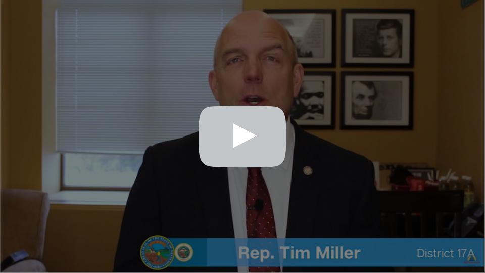 Rep. Tim Miller - Social Studies