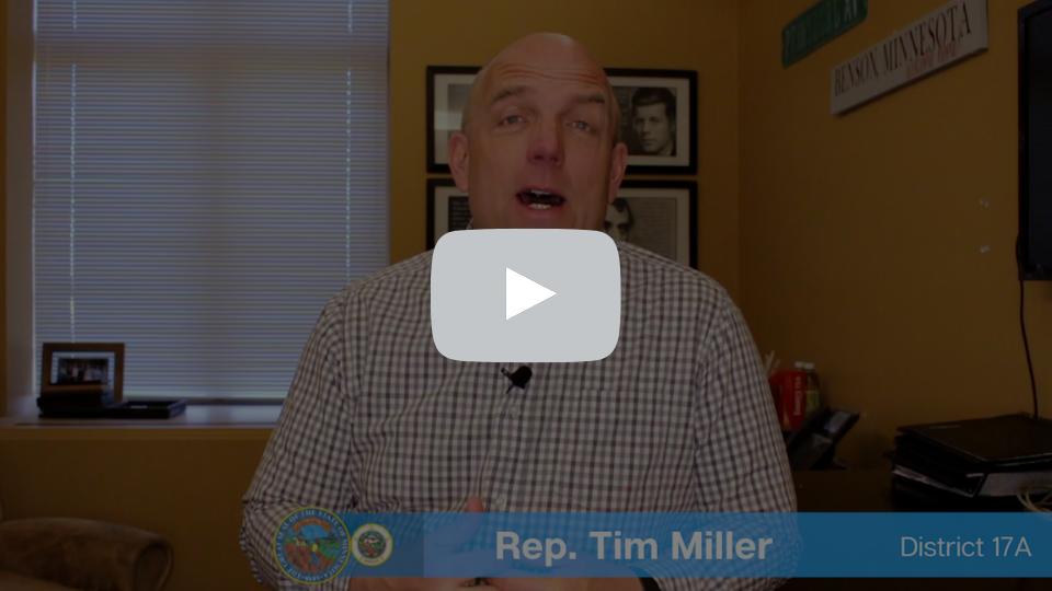 Rep. Tim Miller - 5.7.21