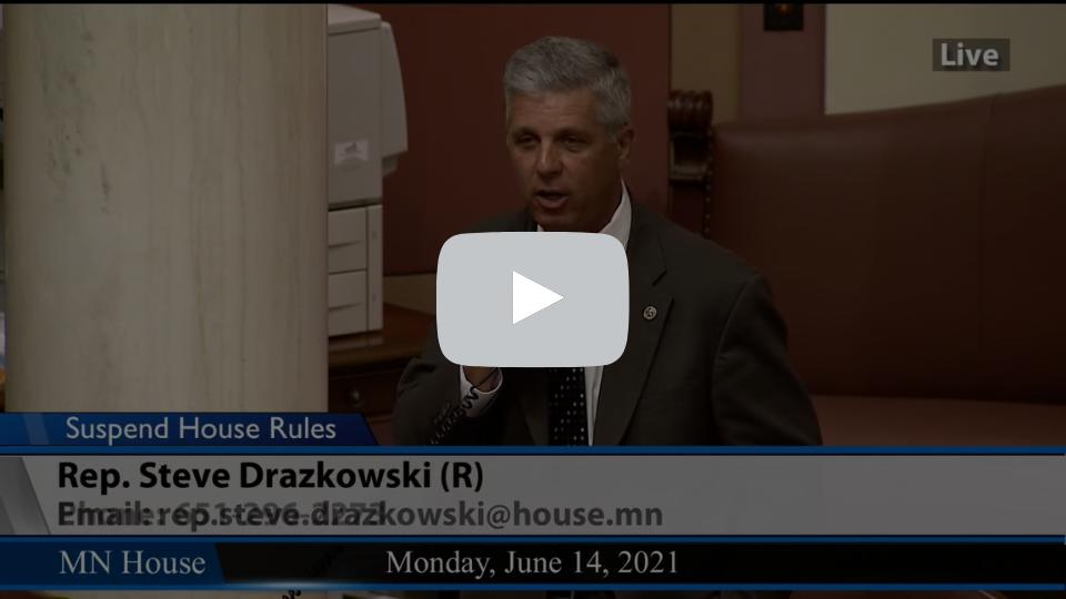 Rep. Drazkowski - 6.14.21
