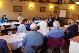 Listening Session at Valentini's Supper Club in Chisholm