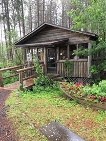 Dorothy Molter's Winter Cabin