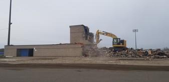 Ewens Stadium Demolition