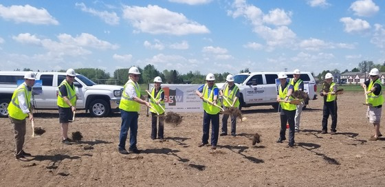 Miners Event & Convention Center Groundbreaking