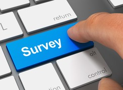 Keyboard with Survey Key