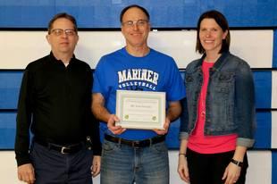 Tom Frericks Teacher Award Winner
