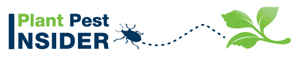 Plant Pest Insider Newsletter logo with bug and leaf