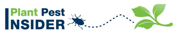 Plant Pest Insider Newsletter logo with bug and leaf