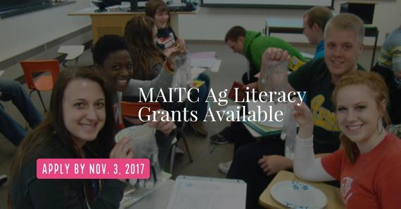 Ag Literacy Grants photo