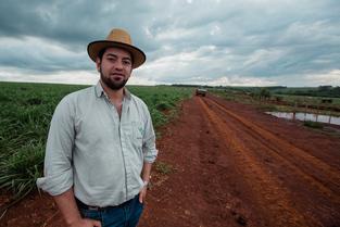 Farmer in Argentina