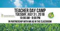 Teacher Day Camp July 31