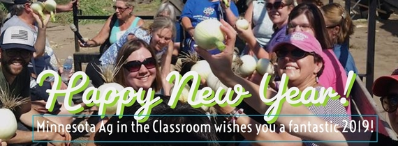 Happy New Year from Minnesota Ag in the Classroom