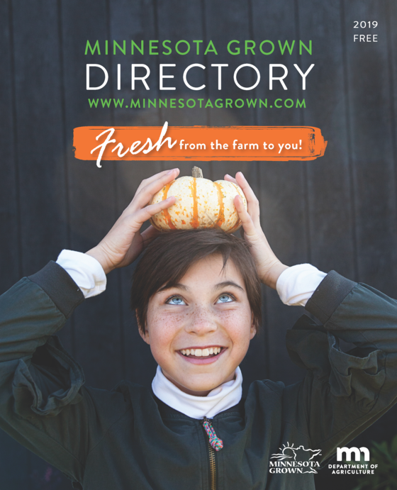 Cover of the 2019 Minnesota Grown Directory