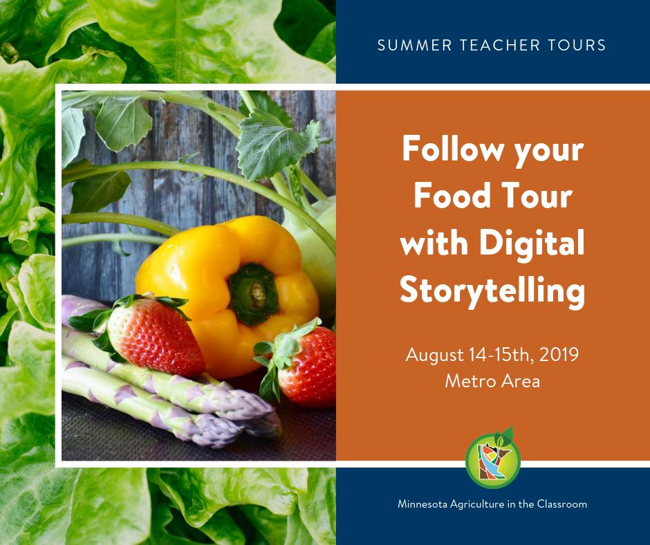 Follow Your Food Teacher Tour