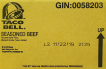 image of recalled beef