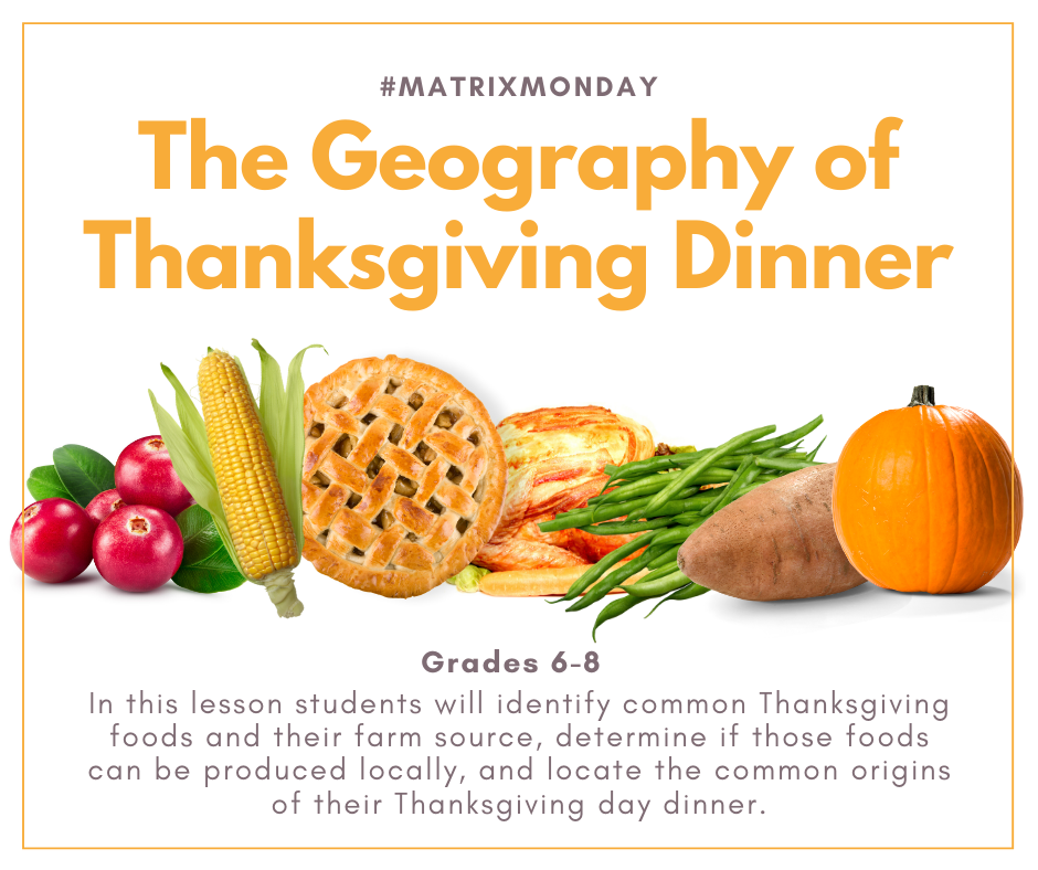 The Geography of Thanksgiving Dinner