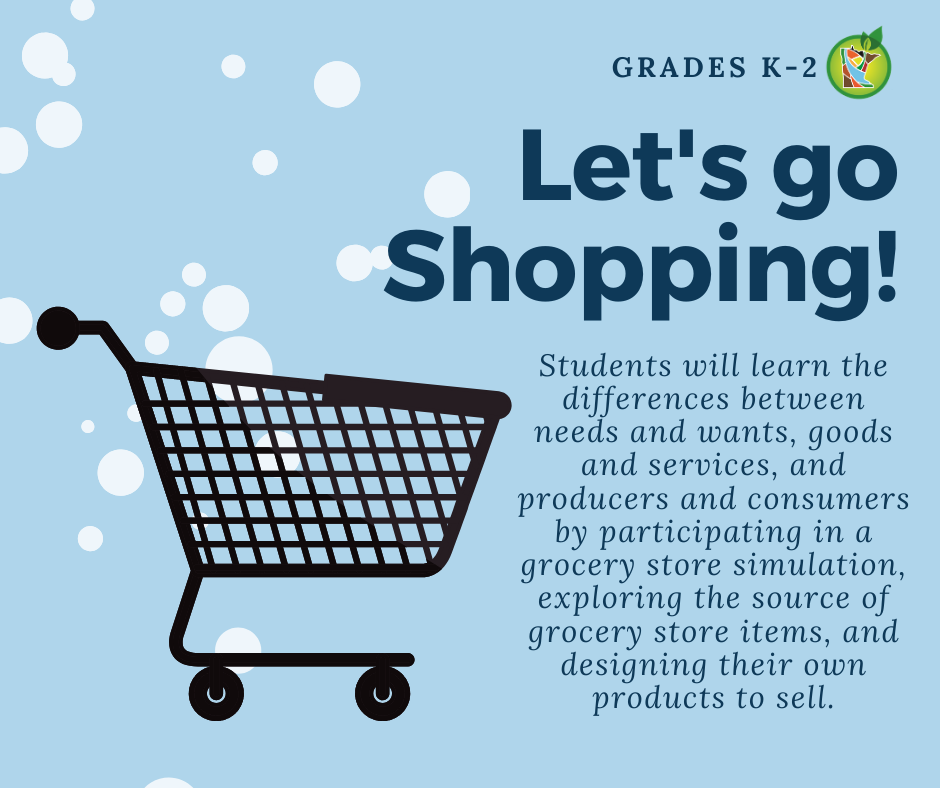 Let's Go Shopping Lesson