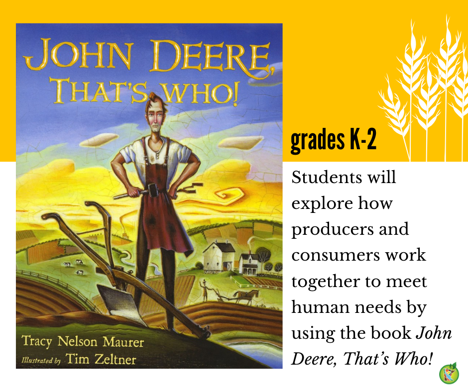 John Deere, That's Who! lesson