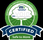 MDA Certified Heat Treated Firewood logo VOID