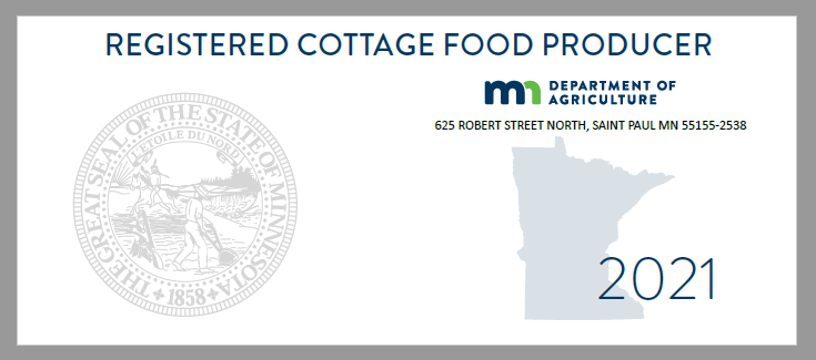 Cottage Foods Registration