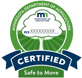 Minnesota Department of Agriculture Certified Firewood logo