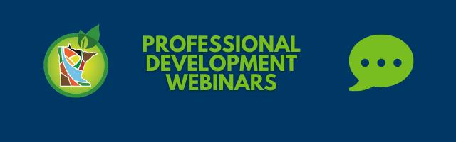 Professional Development Webinars