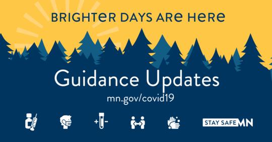 Minnesota COVID-19 guidance updates logos