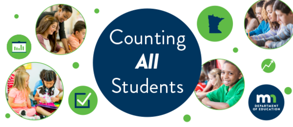 Counting All Students newsletter banner