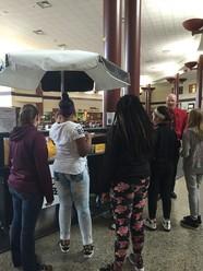 Winona Middle School Breakfast Cart