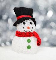 Winter snowman