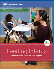 Feeding Infants USDA Manual cover thumbnail